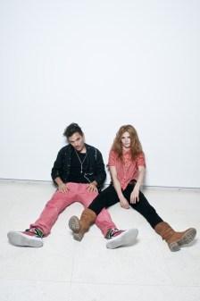 L-R: Dan Levy & Olivia Merilahti