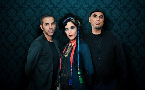 L-R: Carmen Rizzo, Azam Ali, Loga Ramin Torkian
