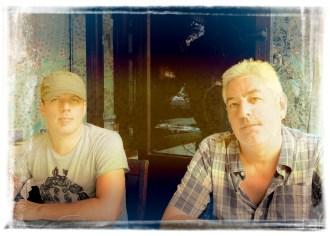 L-R: Andrew T. Mackay & Garry Hughes