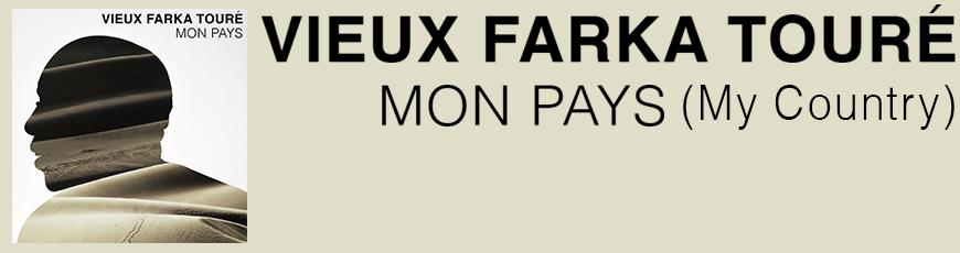 Vieux Farka Touré – Mon Pays Banner