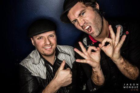 L-R: Evan Fraser & David Satori