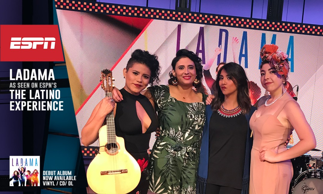 LADAMA to appear on ESPN's The Latino Experience tonight