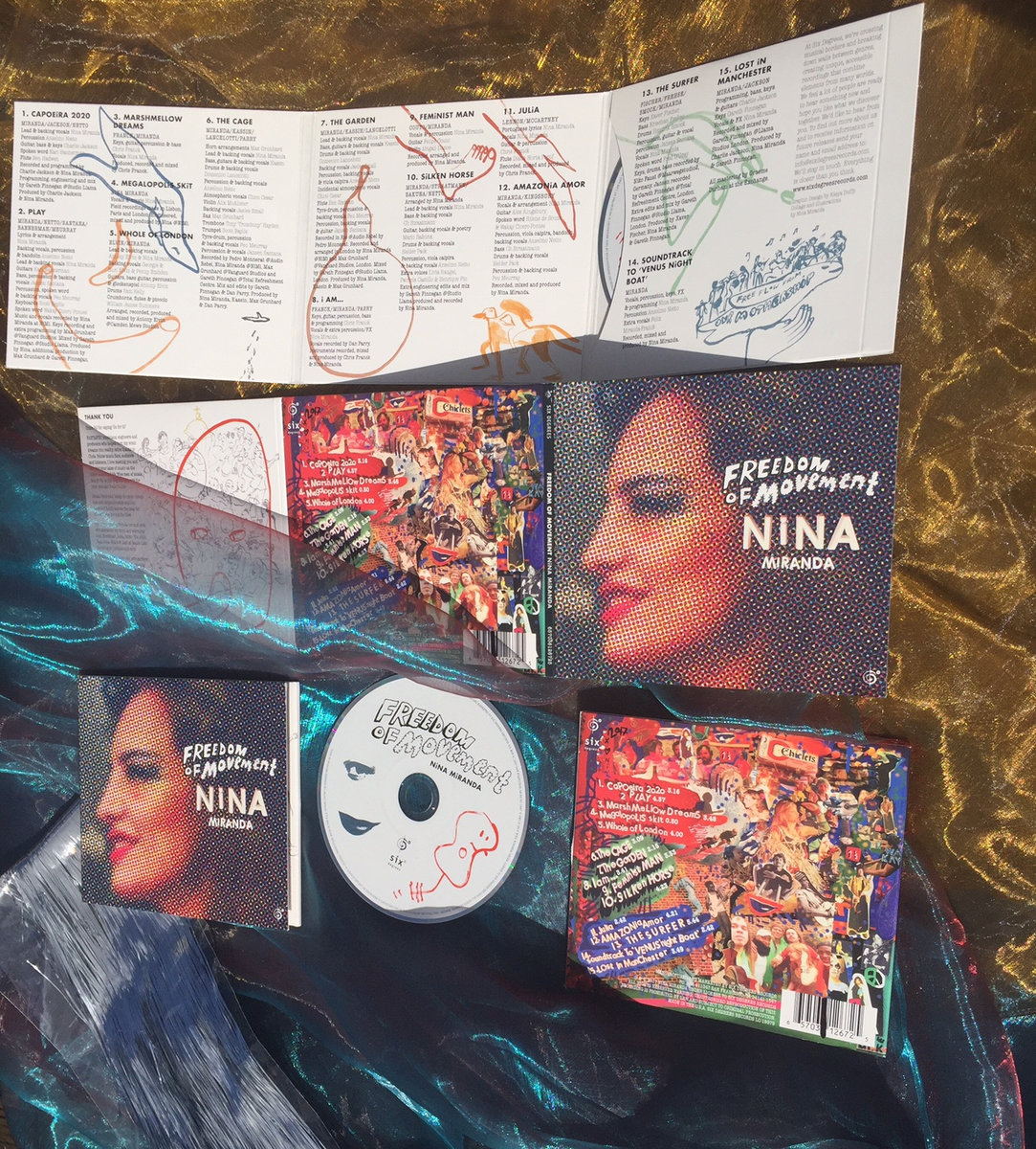 Nina Miranda: Whole of London (single) out now