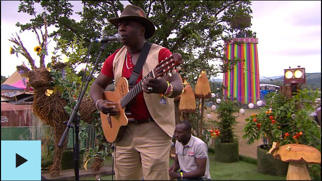 Vieux Farka Touré BBC Radio Acoustic Session from Glastonbury