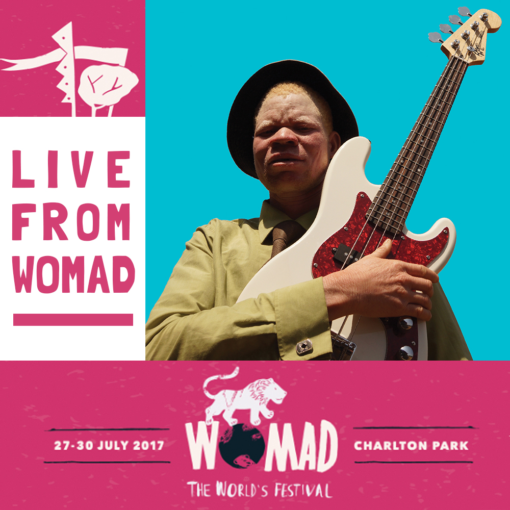 TANZANIA ALIBINISM COLLECTIVE PERFORMING AT WOMAD THIS WEEKEND