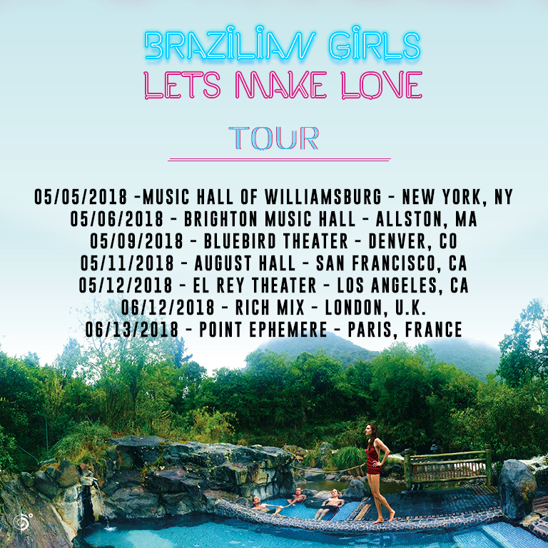 Brazilian Girls announces North America 2018 Tour