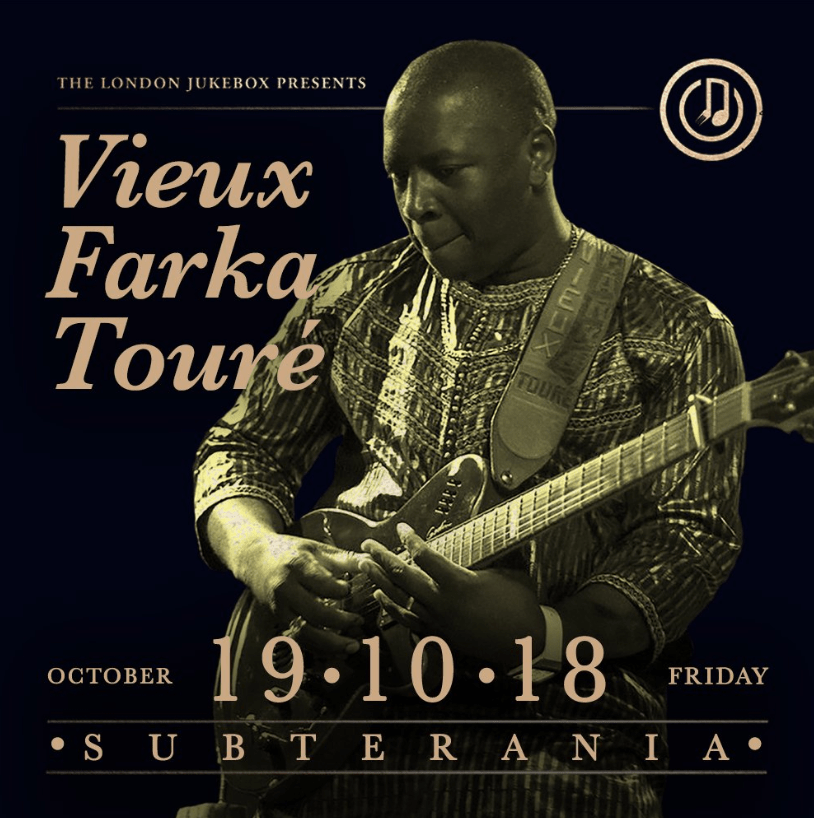 Vieux Farka Touré the man known as the Hendrix of the Sahaha hits the UK on tour in October