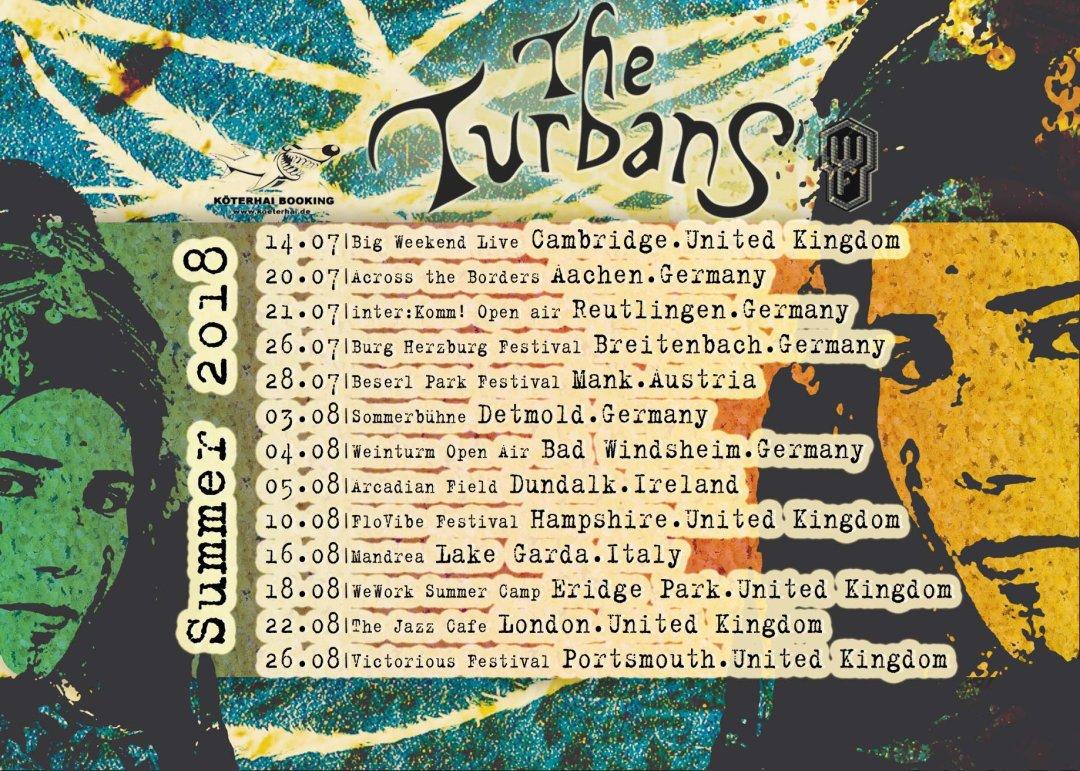 THE TURBANS EUROPEAN TOUR