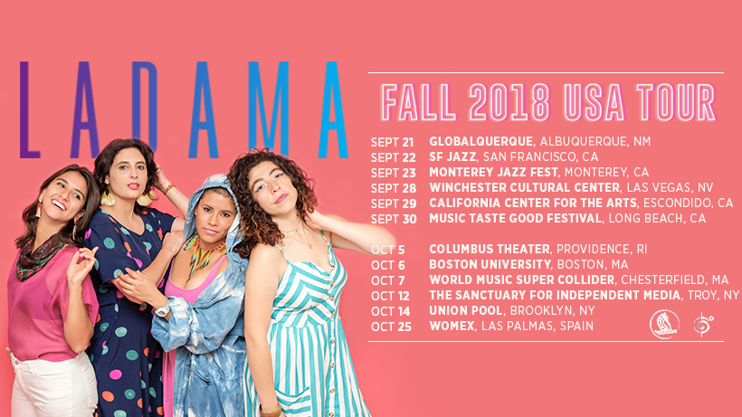 LADAMA FALL US 2018 TOUR