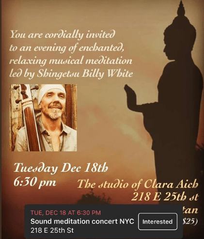 NYC Friends Join The Heart Is Awake For A Mediation