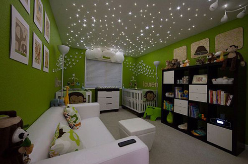 Starry Night Sky Create This Cool Effect In Your Bedroom Six. Starry Night Bedroom   Bedroom Style Ideas