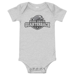 High Chair QB Baby Bodysuit