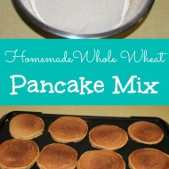Homemade Whole Wheat Pancake Mix