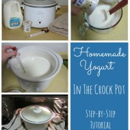 Homemade Yogurt in the Crock Pot