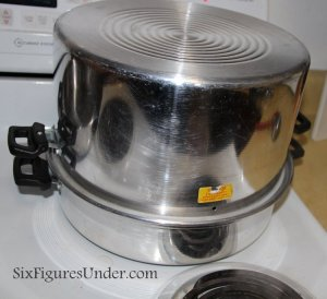 Using a Steam Canner to Can Homemade Applesauce