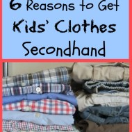 6 Reasons to Get Kids Clothes Secondhand