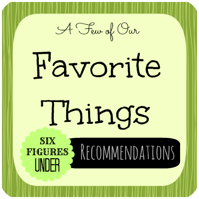 Recommendations from SixFiguresUnder.com: A few of our favorite things for home and finances
