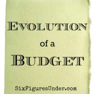 Evolution of a Budget
