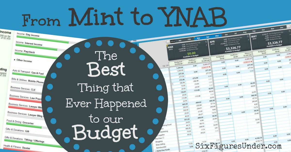 The Best Thing that Ever Happened to Our Budget- Switching from Mint