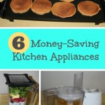 Money saving kitchen appliances