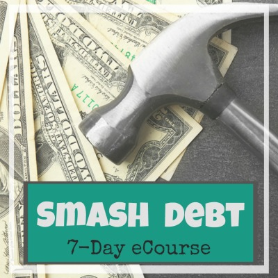 In the Smash Debt course, I'll walk you through the 7 steps we took to pay off over $100,000 of debt and show you how you can form a solid plan to pay off your debt too!