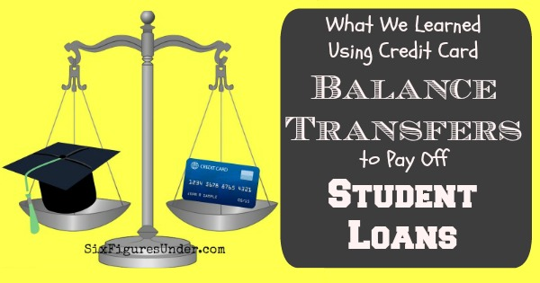 What we learned using Balance Transfers to Pay Student Loans