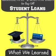 What We Learned from Using a Balance Transfer to Pay Off Student Loans