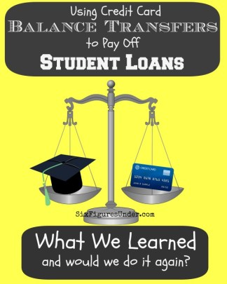 Balance Transfers to Pay Student Loans