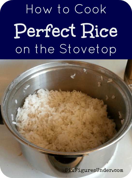 How to cook perfect rice on the stove easy mexican rice recipe rice is a staple in any frugal familys menu learn how to cook rice on ccuart Images
