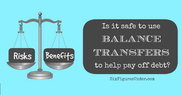 is it safe to use balance transfers in debt payoff