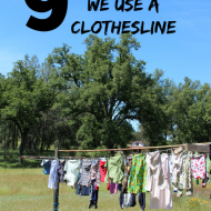 9 Reasons We Use a Clothesline