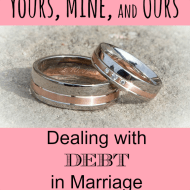 Yours, Mine, and Ours: Debt in Marriage