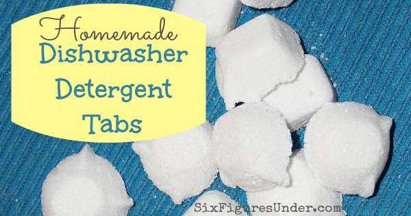 Homamade Dishwasher Detergent FB