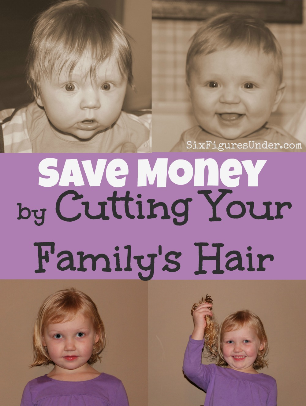 The investment for cutting your family's hair is minimal considering how much you can save. If you're new to cutting your own hair, be brave and give it a try.
