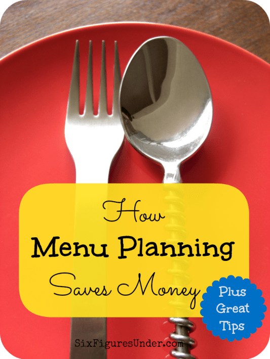 Besides saving your sanity and making meals more delicious, menu planning saves money. Here are several ways that menu planning benefits your budget along with some tips to get started!