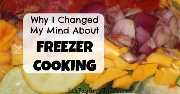 I changed my mind about freezer cooking