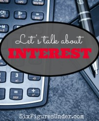 Let's talk about interest
