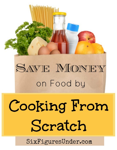 So far this year, we've spent an average of $239 a month on food for our family of 5. One of the ways we keep our costs down is by cooking from scratch. Here are some ideas to help you get started saving.