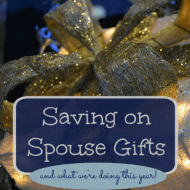 Saving on Spouse Gifts (and our plan for this year)