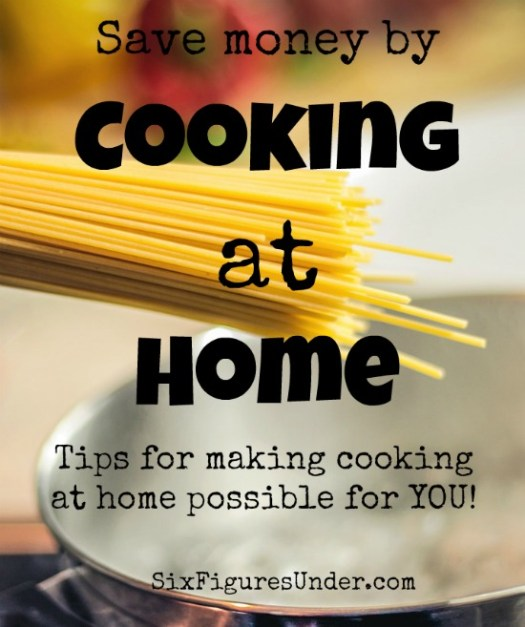 With some practice and some adaptations, you can make cooking at home work for you. It's no only good for your wallet, but it's good for your body. Increasing how much you cook at home is possible for everyone! Here are some tips and tricks to get you started!