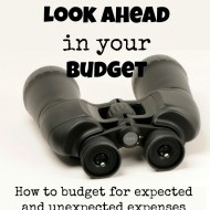 Look Ahead in Your Budget– Frugal Fresh Start- Day 13