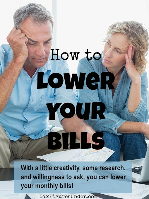 """Expenses we consider as """"fixed"""" aren't as fixed as we think. With a little creativity, some research, and willingness to ask, you can lower your bills. The best part of lowering your bills is that you see the savings each month! Come find out how!"""