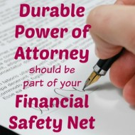 Why a Durable Power of Attorney is Part of Your Financial Safety Net