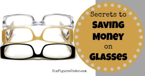 Save money on glasses FB