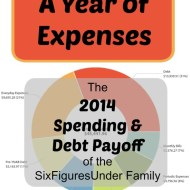 A Year of Expenses– 2014 Annual Spending Totals for the SixFiguresUnder Family