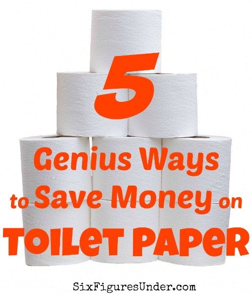 How much do you spend on toilet paper? Stop flushing money down the toilet! With these genius tips, you'll save money on toilet paper and enjoy some other perks too!