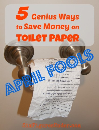 How much do you spend on toilet paper? Stop flushing money down the toilet! With these genius tips, you'll save money on toilet paper and enjoy some other perks too! **April Fools**