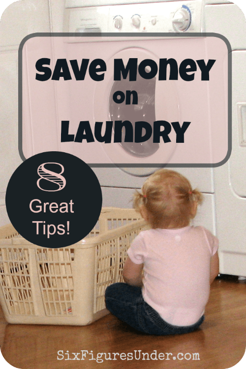 Laundry's a chore that isn't going to go away. Learning ways to save money on laundry will keep the savings adding up. Here are 8 great tips to save money on laundry!