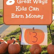8 Ways Kids Can Earn Money