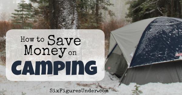 Camping hacks for frugal folks